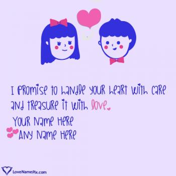 Cute Couple Name Art Generator Online With Name