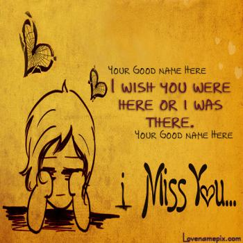 Cute Miss U With Name