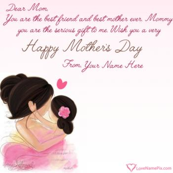 Cute Mothers Day Messages With Name