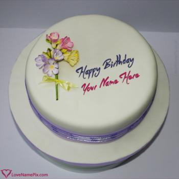 Design Name Wala Birthday Cake Online With Name