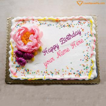 Edit Birthday Cake Generator With Name