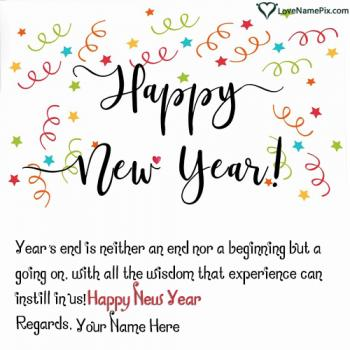 Edit Happy New Year Images With Name