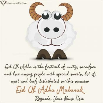 Eid Ul Adha Quotes English With Name