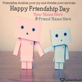 Friendship Day Images Best Friends With Name