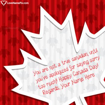 Funny Canadian Quotes Sayings Name Picture