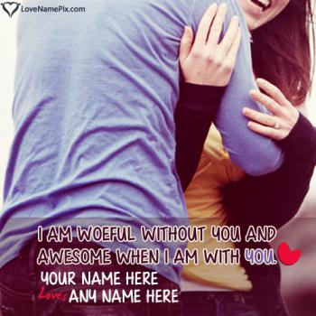 Write name on Generator For Couple Lovers love images