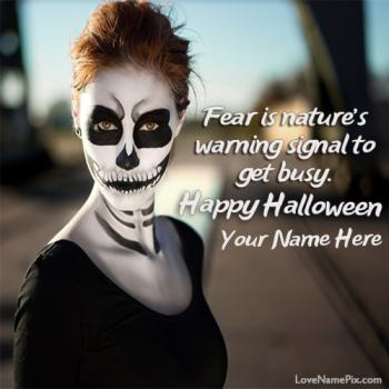 Halloween Quotes Wishes With Name