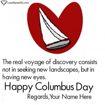 Happy Columbus Day Quotes With Name
