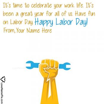 Happy Labor Day Messages Name Picture