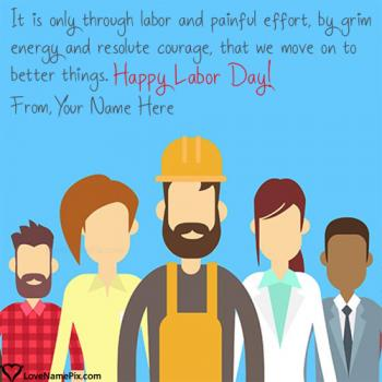 Happy Labour Day Quotes Name Picture