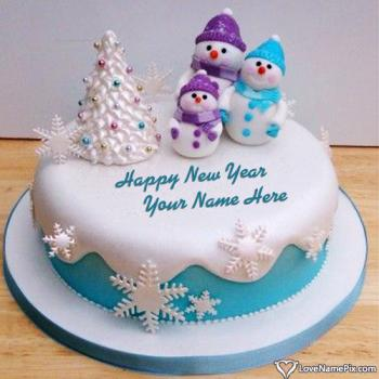 Happy New Year Cake Images Download With Name