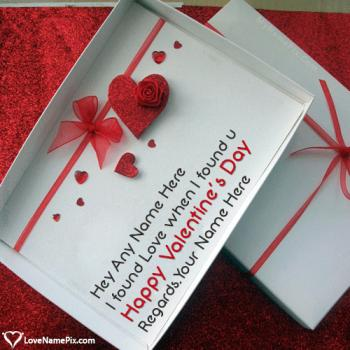 Happy Valentines Day Messages For Husband Name Picture