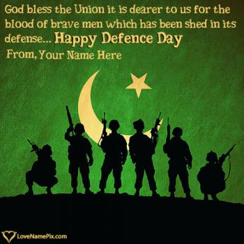 Images Of Defence Day Wishes With Name