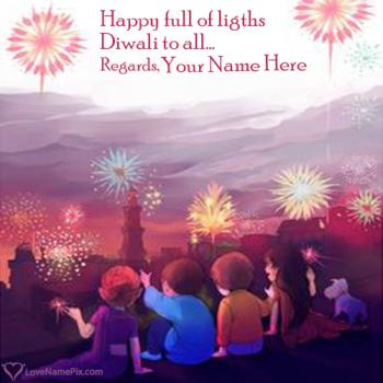 Write name on Images Of Diwali Festival Of Lights images