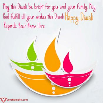 Write name on Images Of Diwali Greetings images