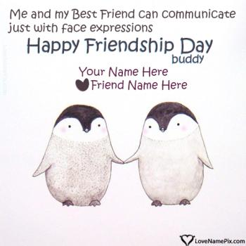 Images Of Friendship Day Messages With Name