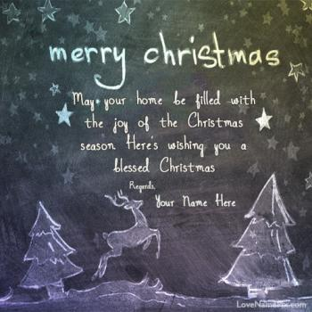 Merry Christmas Images With Quotes Name Picture