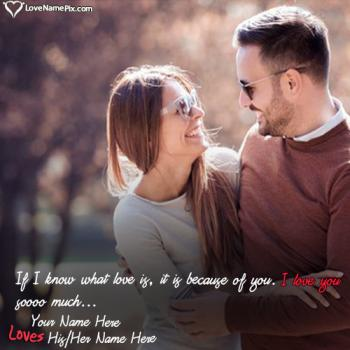 Most Beautiful Couple Name Wallpaper Maker With Name