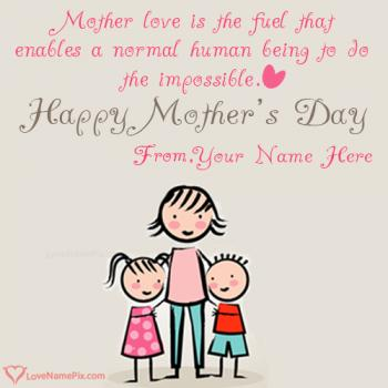 Mothers Day Quotes Wishes With Name
