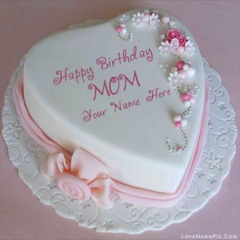 Best Cake Designs For Mother : 2 Steps Generator For Happy Birthday Cakes With Name 22