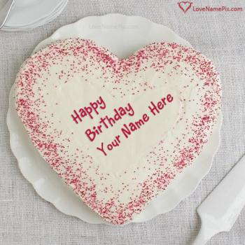 Photo Edit Online Birthday Cake With Name