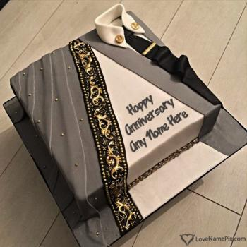 Romantic Anniversary Cake Designs With Name