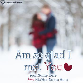 Write name on Romantic Couple Quotes Generator love images