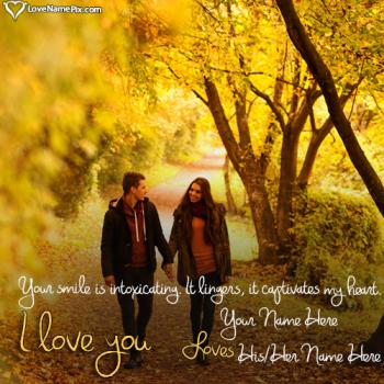 Romantic Love Couple Name Maker Online With Name
