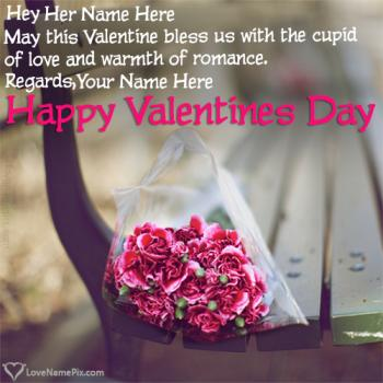 Write name on Romantic Valentines Day Love Messages love images