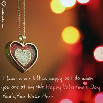 Write name on Valentine Messages For Boyfriend love images