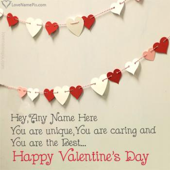 Write name on Valentines Day Quotes For Her love images