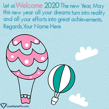 Welcome 2020 Best Wishes Quotes With Name