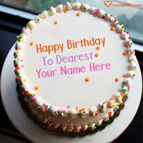 Create Best Birthday Cake With Edit Option With Name Edit