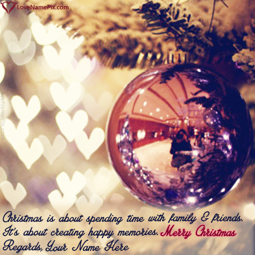best christmas wishes sayings with name editing