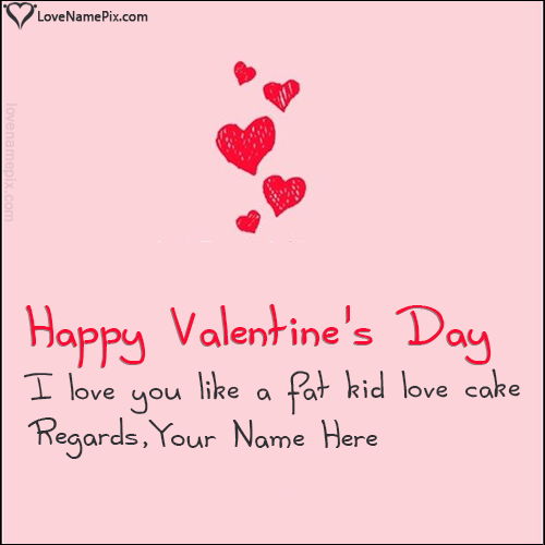 Write name on Best Funny Valentine Quotes love quotes