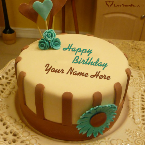 Online Birthday Cake Images With Name Editor