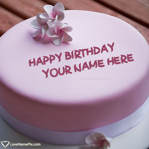 Create Birthday Cake Creator For Girls With Name Edit