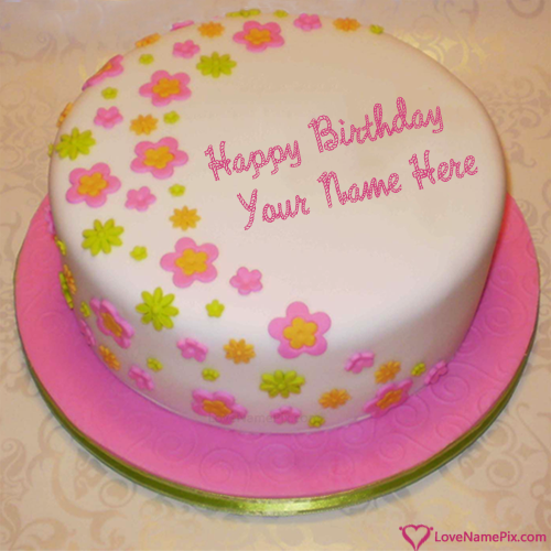 Create Download Birthday Cake Images For Girls With Name Edit