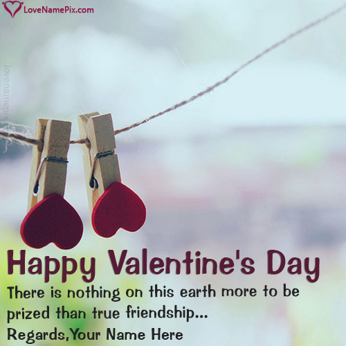 Write name on Valentines Day Wishes For Friends love quotes